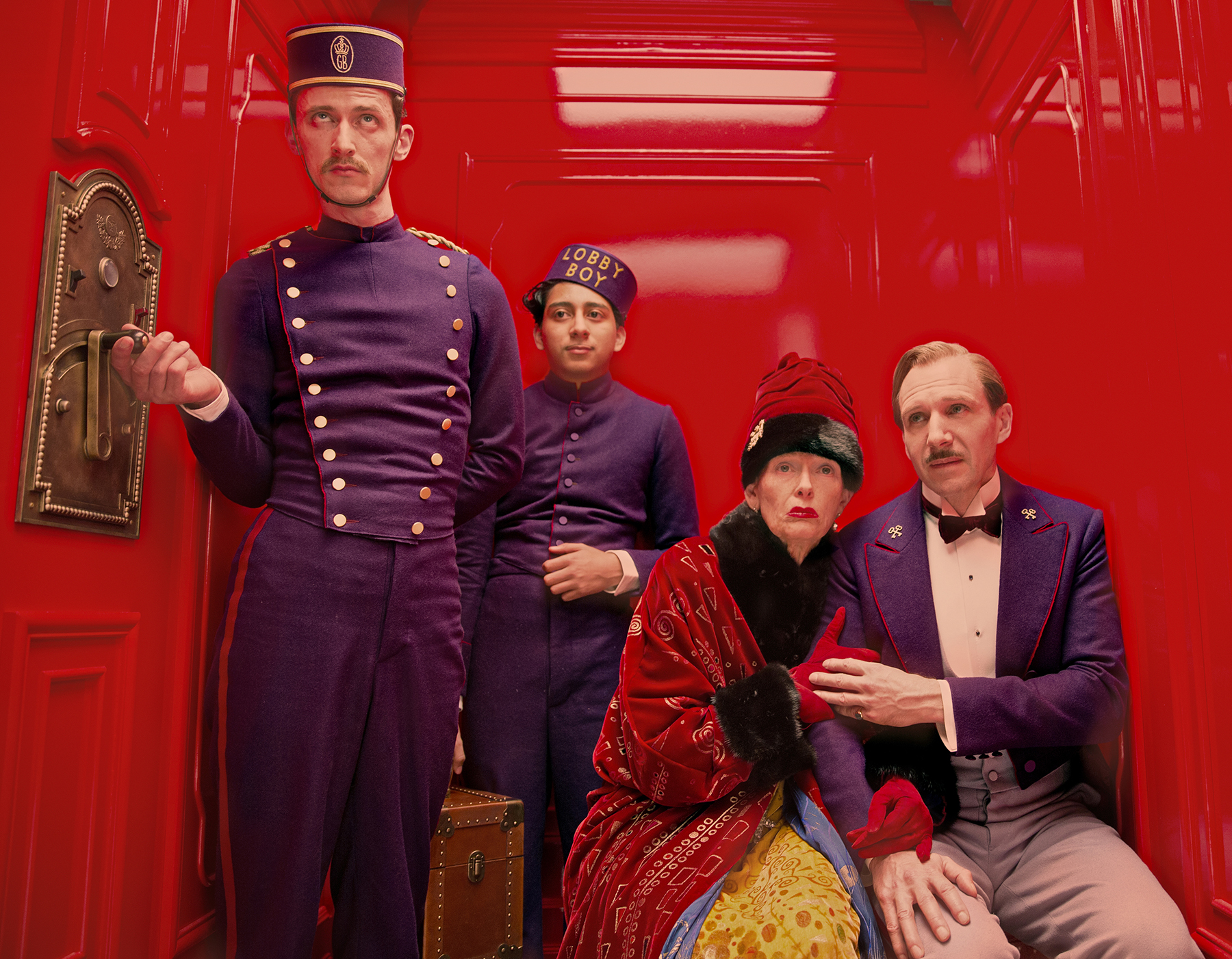 A scene from The Grand Budapest Hotel. (Credit: Fox Searchlight Pictures)
