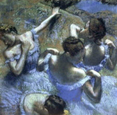 """Blue Dancers,"" Edgar Degas"