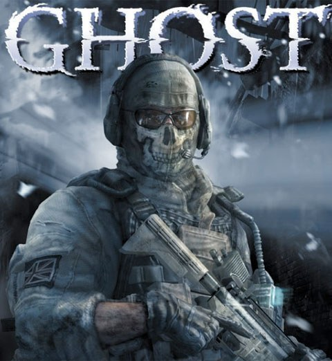 "Ghost rom ""Call of Duty."""