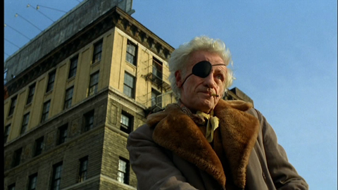 Director Nicholas Ray in THE AMERICAN FRIEND.