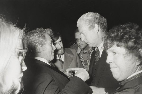 Party, Norman Mailer's Fiftieth Birthday, New York. 1973.