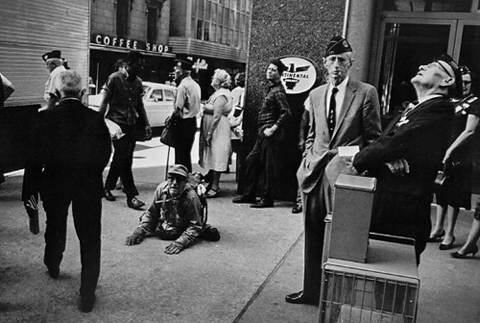"Winogrand ""American Legion Convention, Dallas Texas 1964"""
