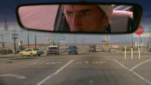 Harry Dean Stanton in PARIS, TEXAS,