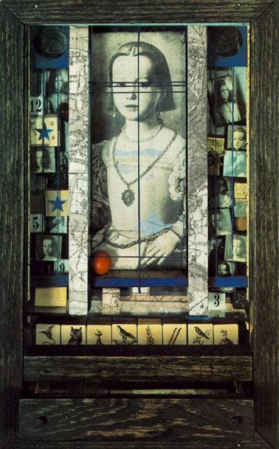 """The Medici Princess"" Joseph Cornell"
