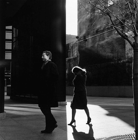 Metzker, City Whispers, Philadelphia, 1983.