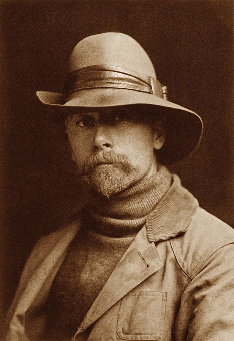 Edward Sheriff Curtis in 1889, age 21.