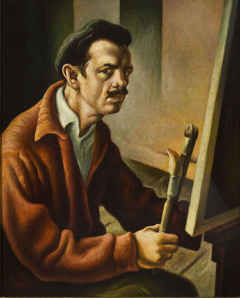 Self Portrait, Thomas Hart Benton
