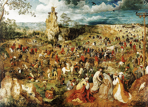 Bruegel's Way to Calvary