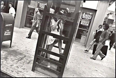New York. 1968 or 1972.