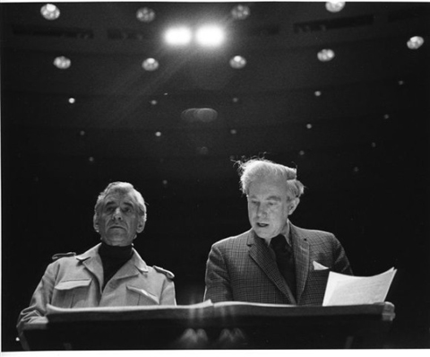 Leonard Bernstein and Carter