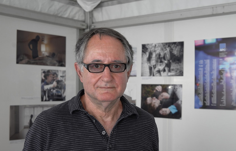 Peter Suschitzky at Cannes, 2015.