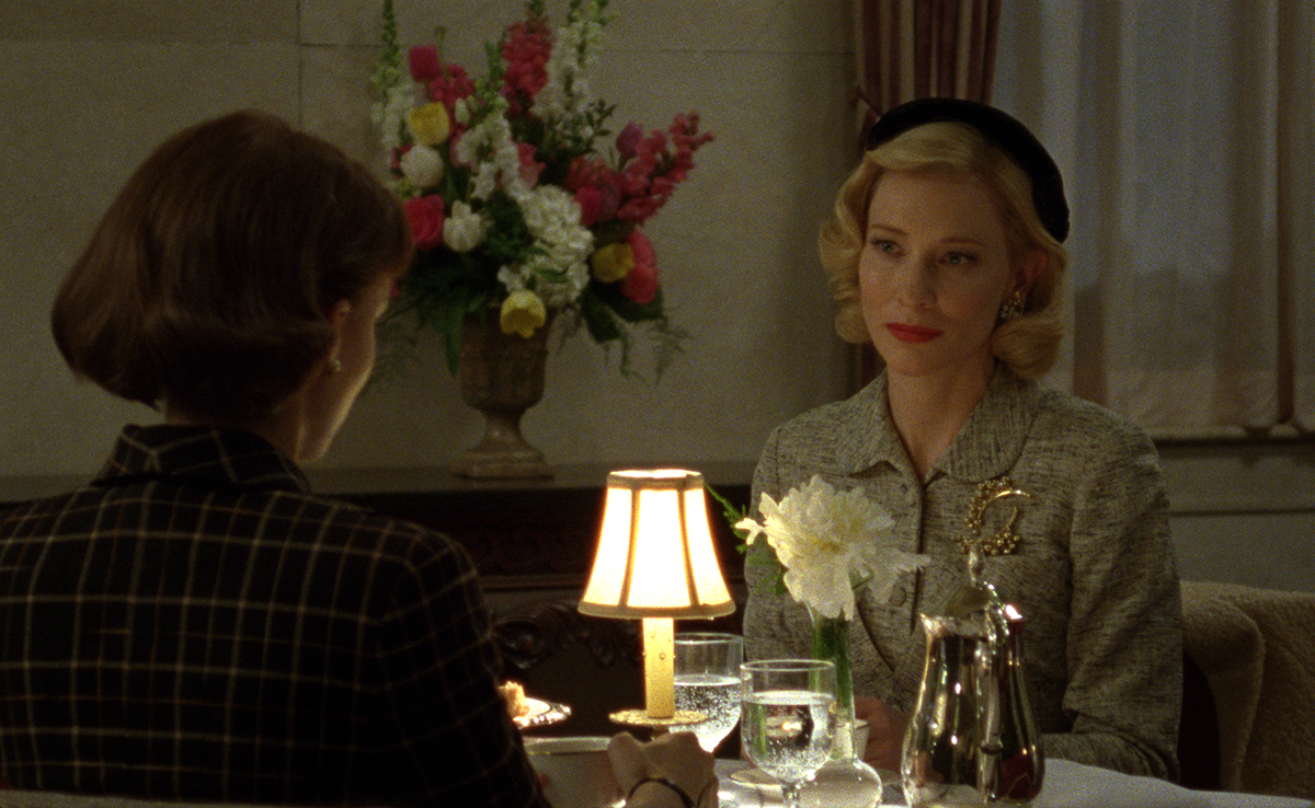 A scene from Carol, shot by Ed Lachman, ASC. (Credit: The Weinstein Co.)