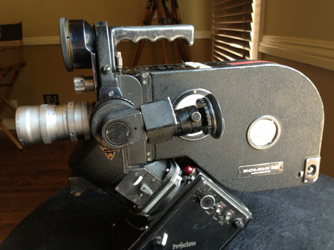The well worn NPR of Roger Deakins, his gift to the camera collection of the ASC.