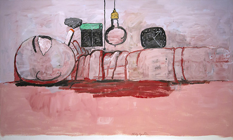 Guston's Stationary Figure