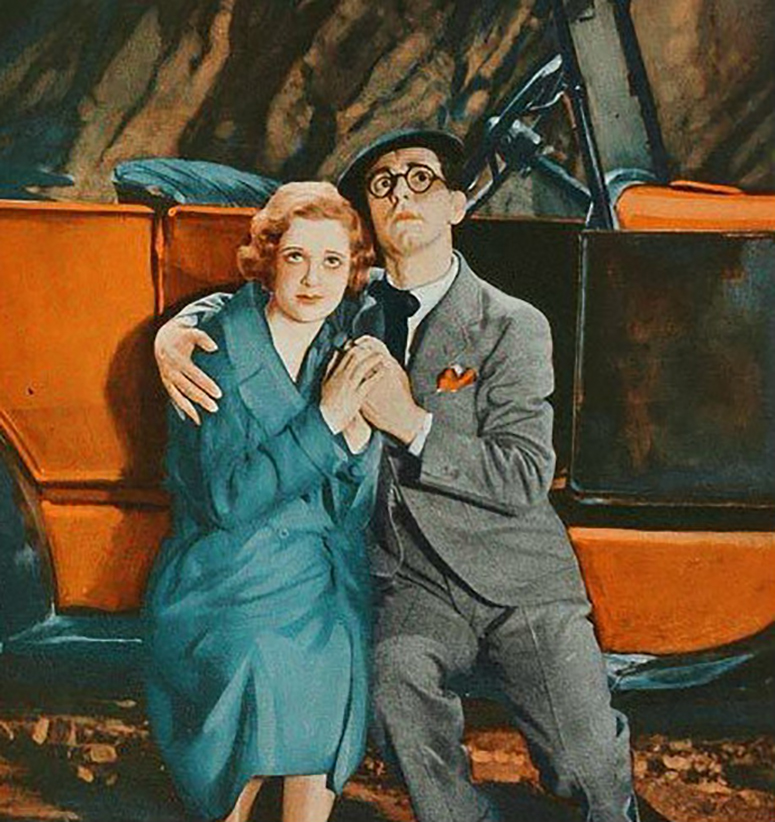 Eleanor Hunt and Eddie Cantor