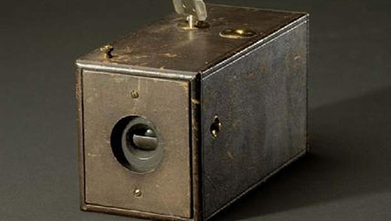 The Kodak Box Camera introduced in 1888.