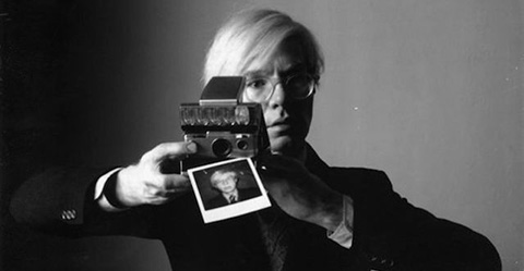 2. warhol self portrait polaroid