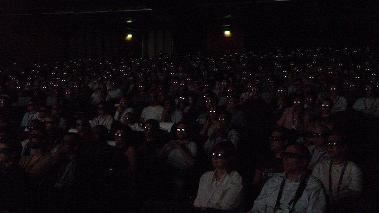 3D screening at IBC's Big Screen