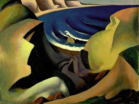 The Cliffs, Thomas Hart Benton