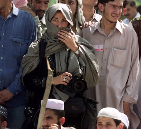 Addario in Pakistan, 2001