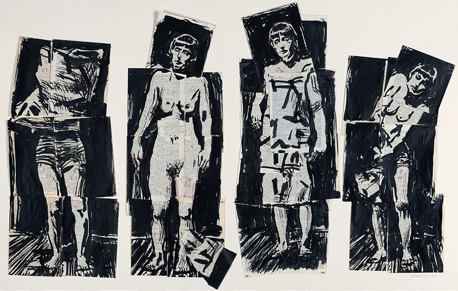 Studies by William Kentridge.