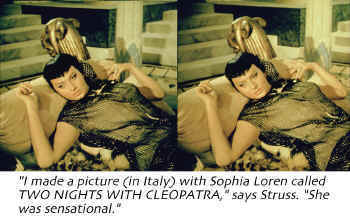 Stereo slide from 1953 Italian film.