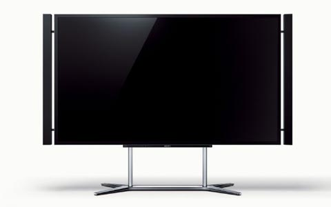 "Sony 84"" Ultra HD television."