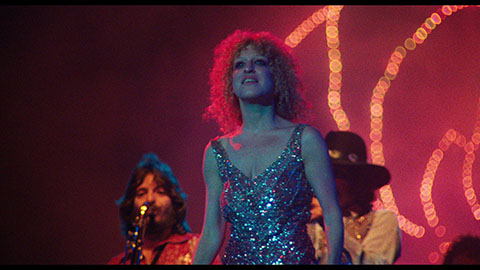 One of Rose's performances in the film.