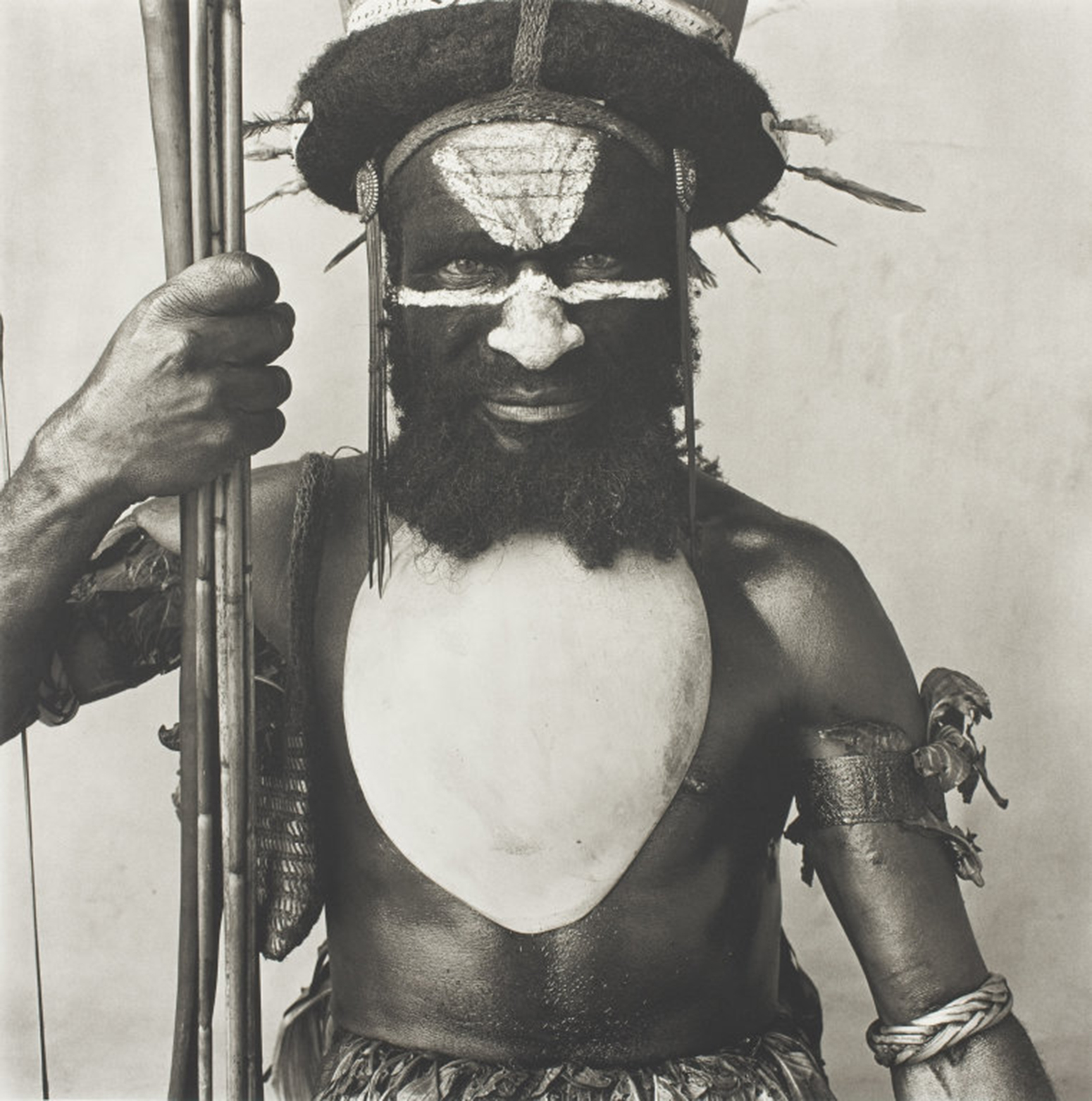 Tambul Warrior by Irving Penn