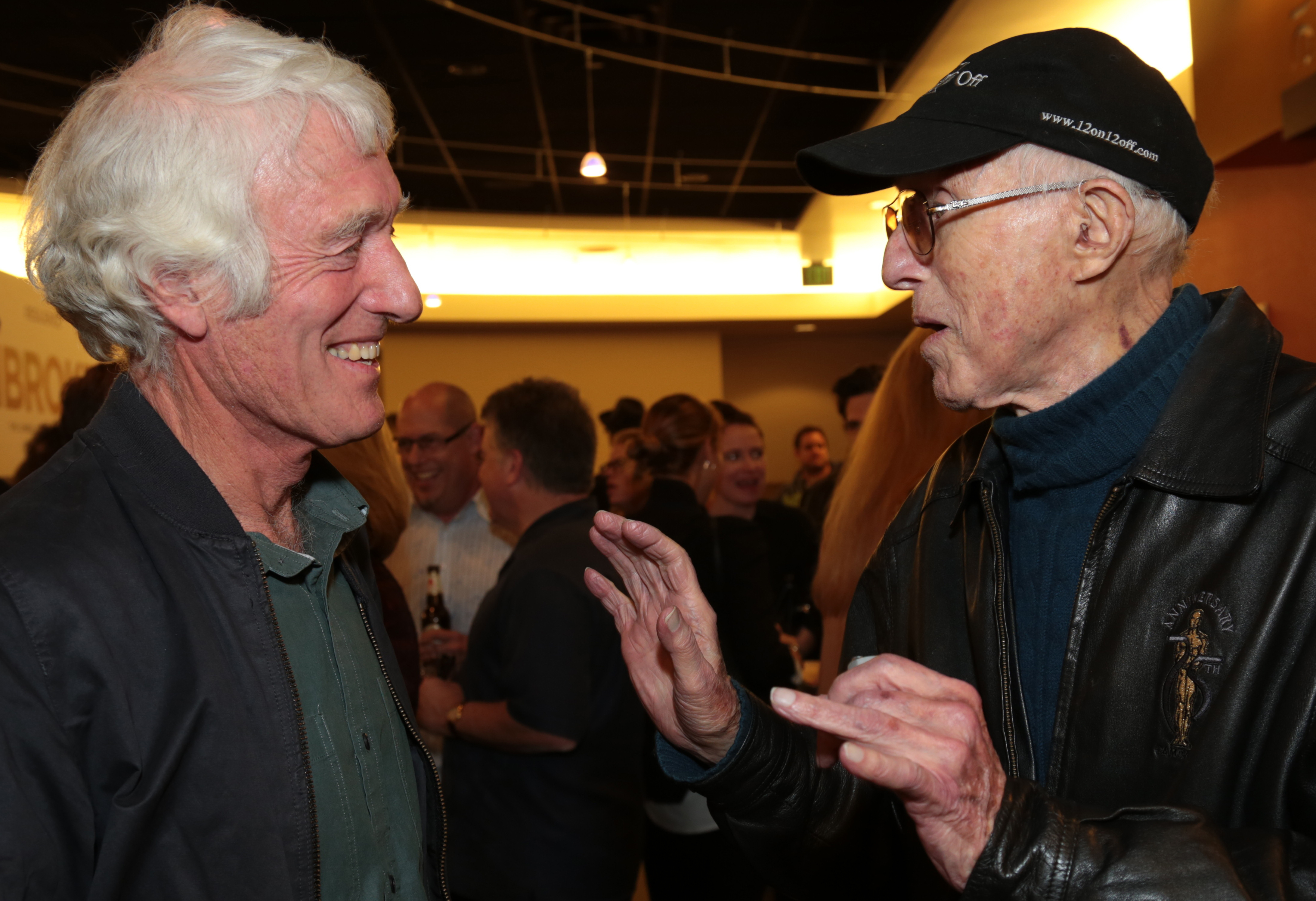 Deakins chats with Haskell Wexler, ASC.