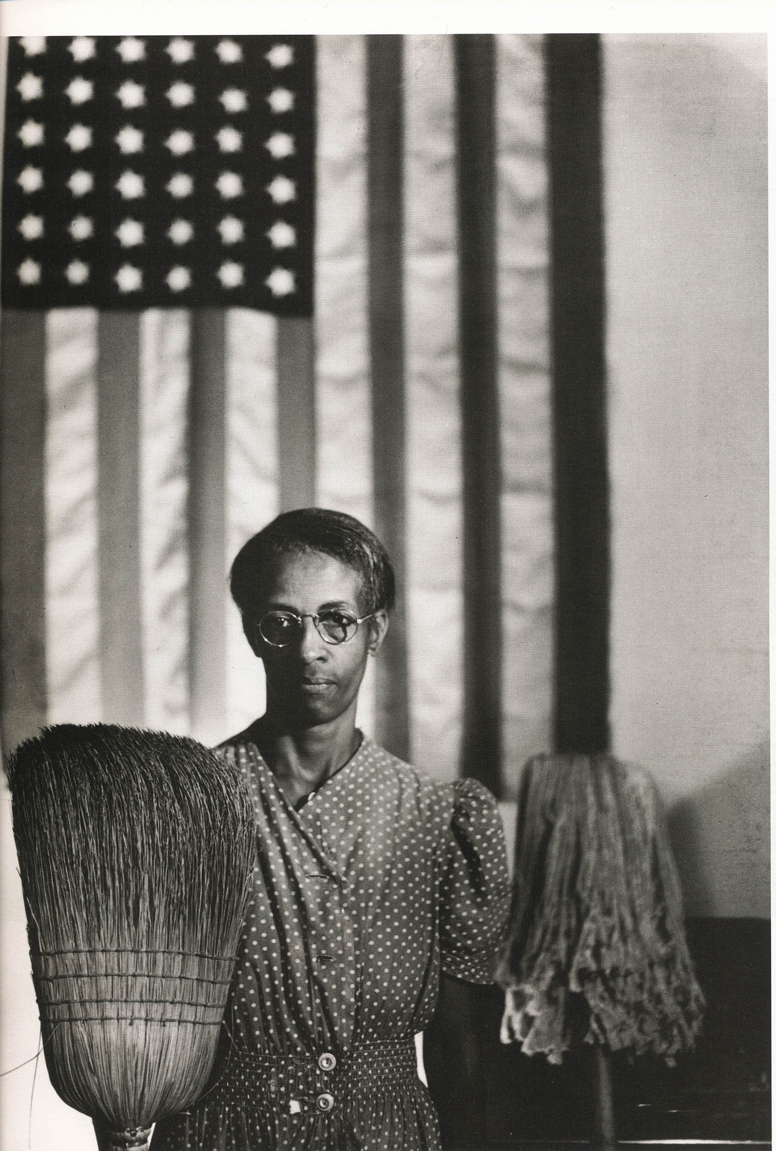 Gordon Parks' photo of Ella Watson in 1942.