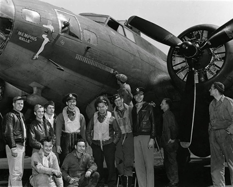 7. the memphis belle