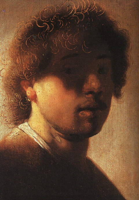 Rembrandt at 22