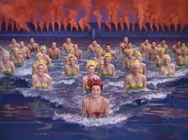 Esther Williams in Million Dollar Mermaid.