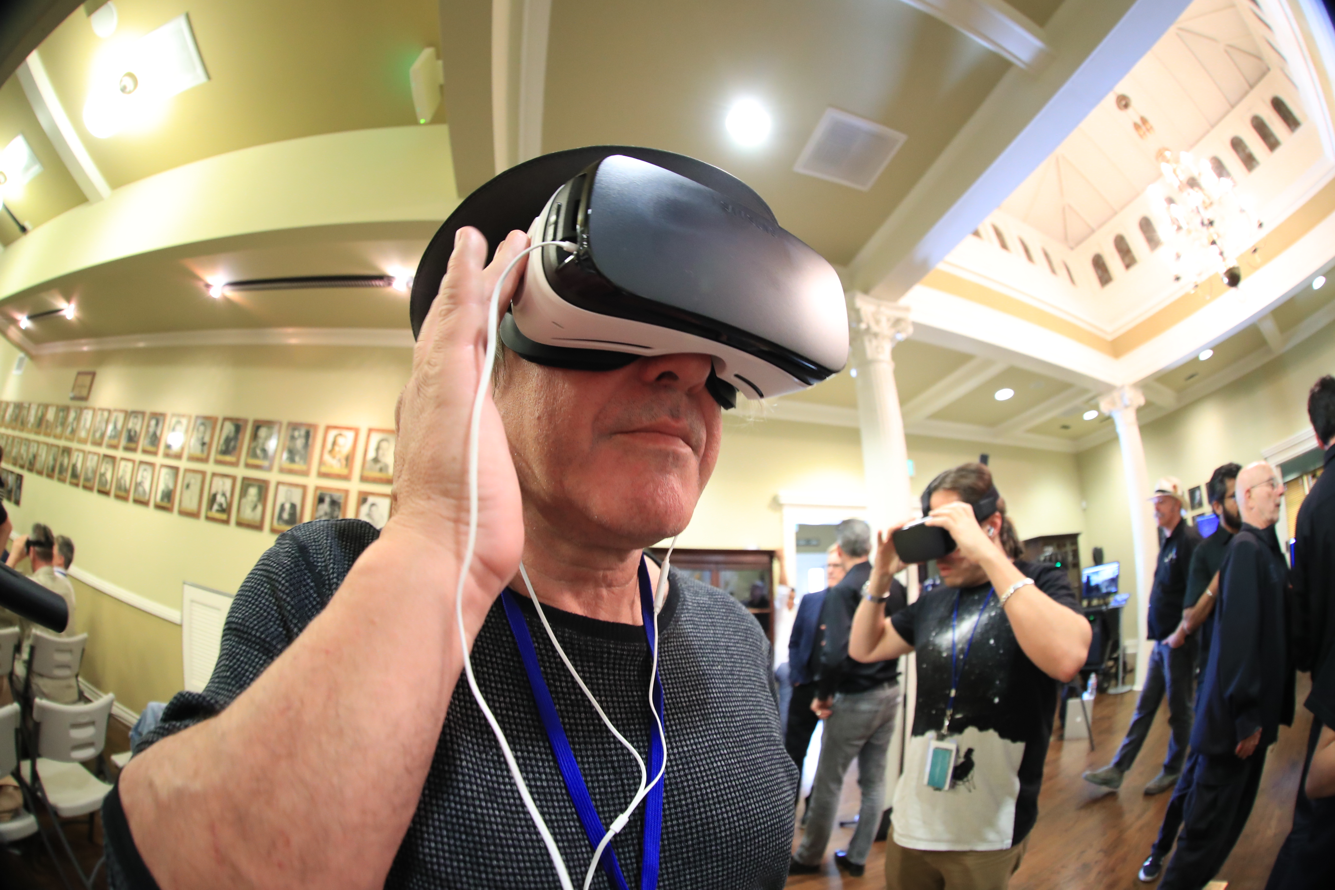 What's the future for cinematographers in creating VR programming? Photo by James Neihouse, ASC