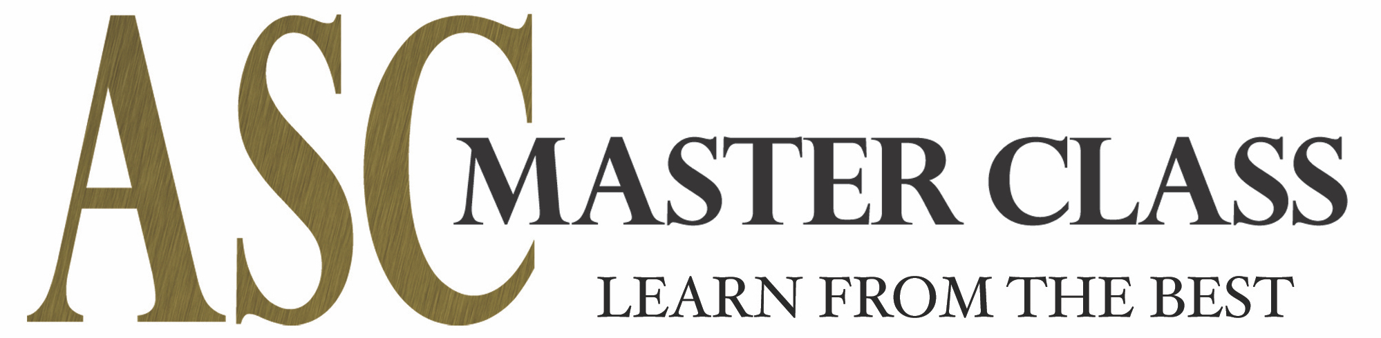 ASC Enrolling May, June Master Classes - The American