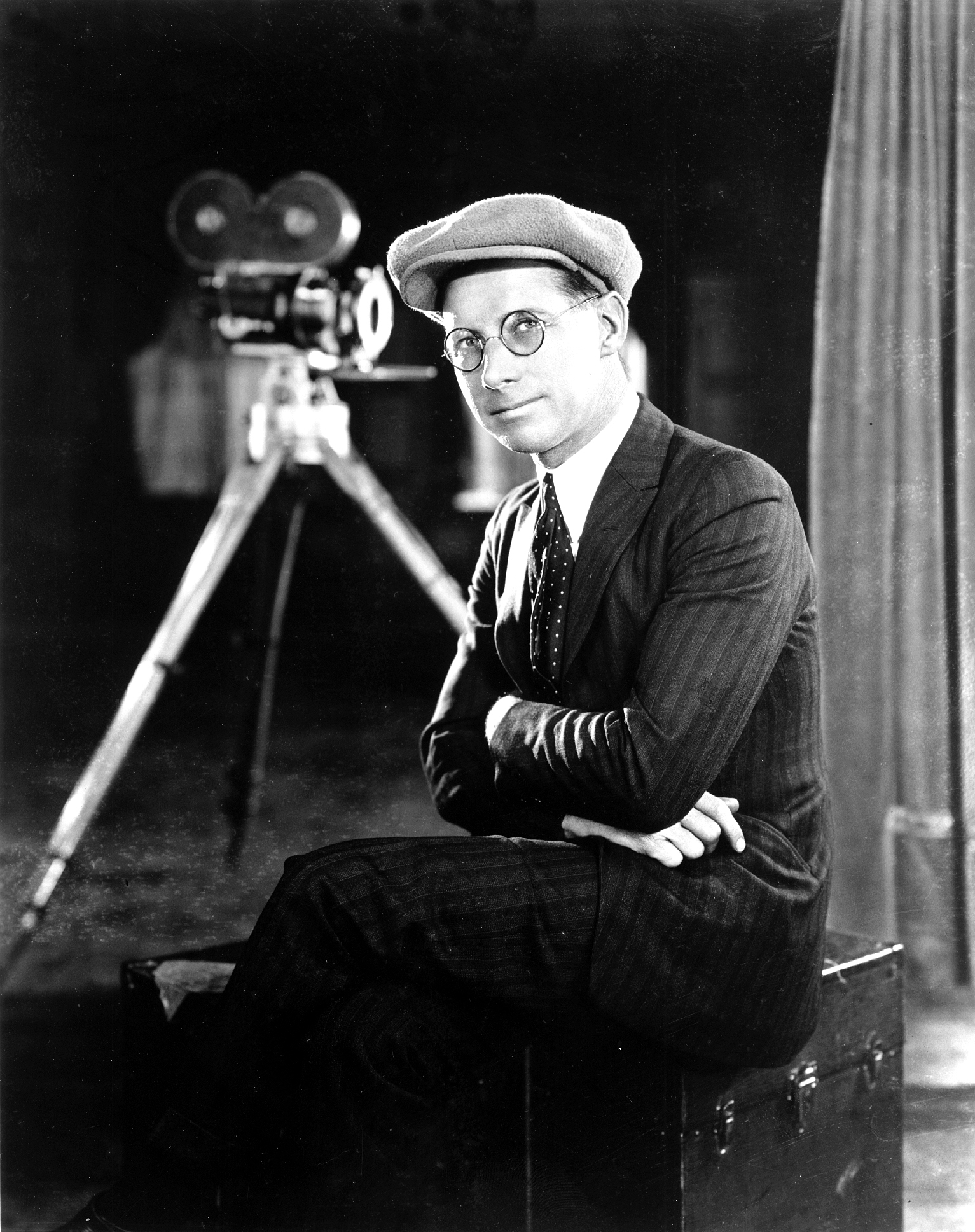 Here's Homer A. Scott in the 1920s, during his days as comedy king Mack  Sennett's lead feature cinematographer.