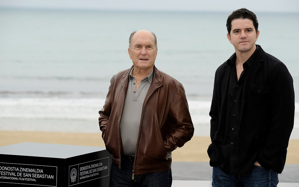 Aaron Schneider, ASC and actor Robert Duvall.