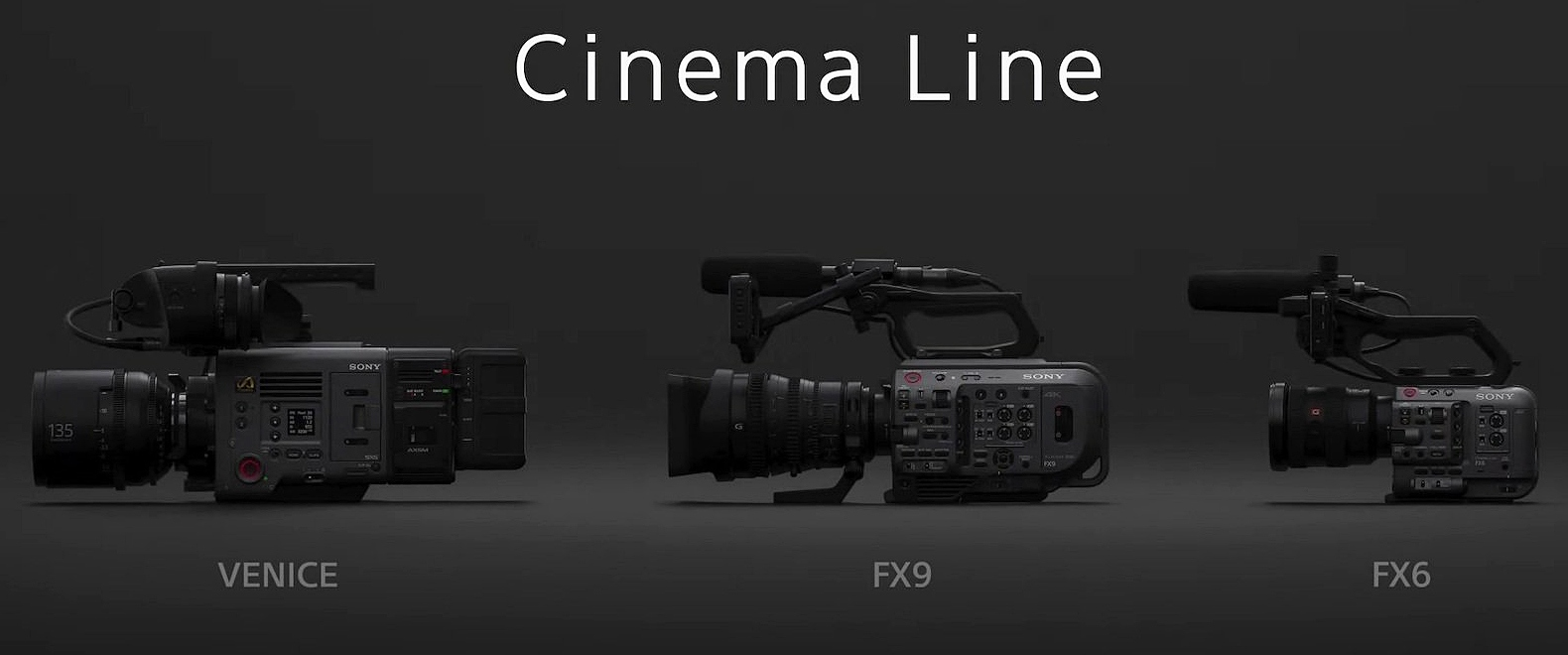 Alpha Universe New Sony Cinema Line