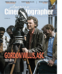 American Cinematographer October 2014 -Gordon Willis-115px