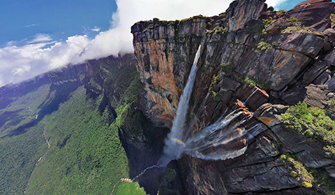 Angel Falls, Venezuela, a location for the new POINT BREAK.