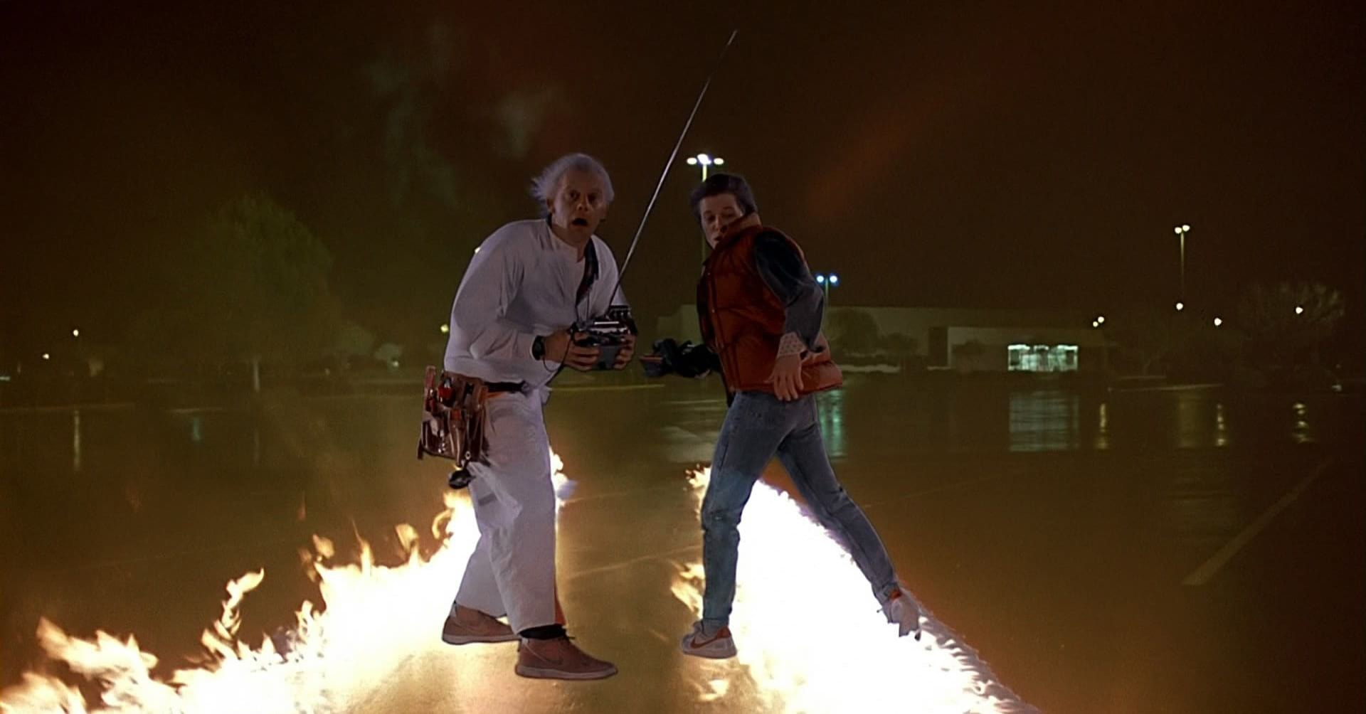 Director Robert Zemeckis' 1985 mega-hit Back to the Future (shot by Dean Cundey, ASC) was one of the more special-effects heavy films of the decade.