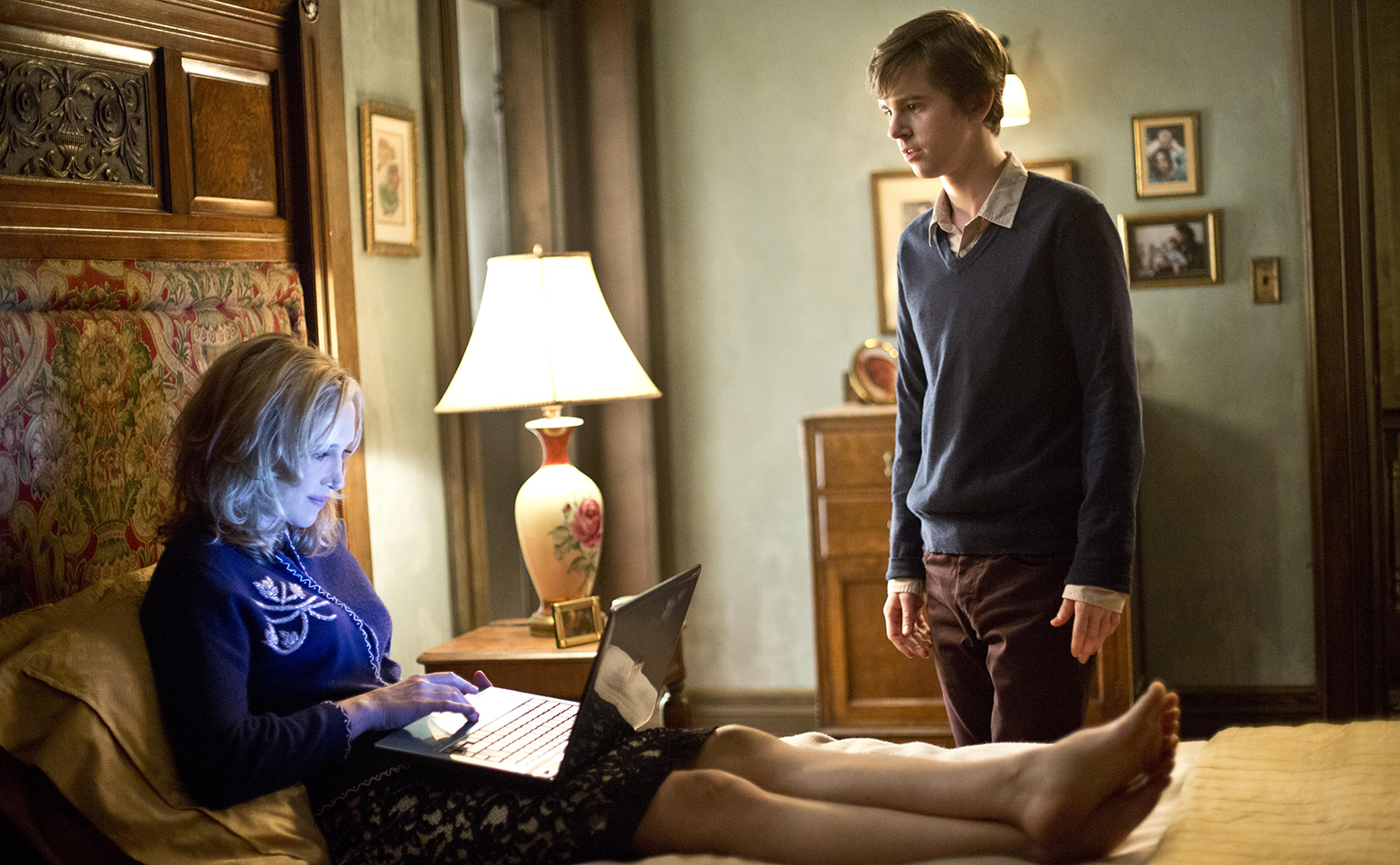 A scene from Bates Motel.