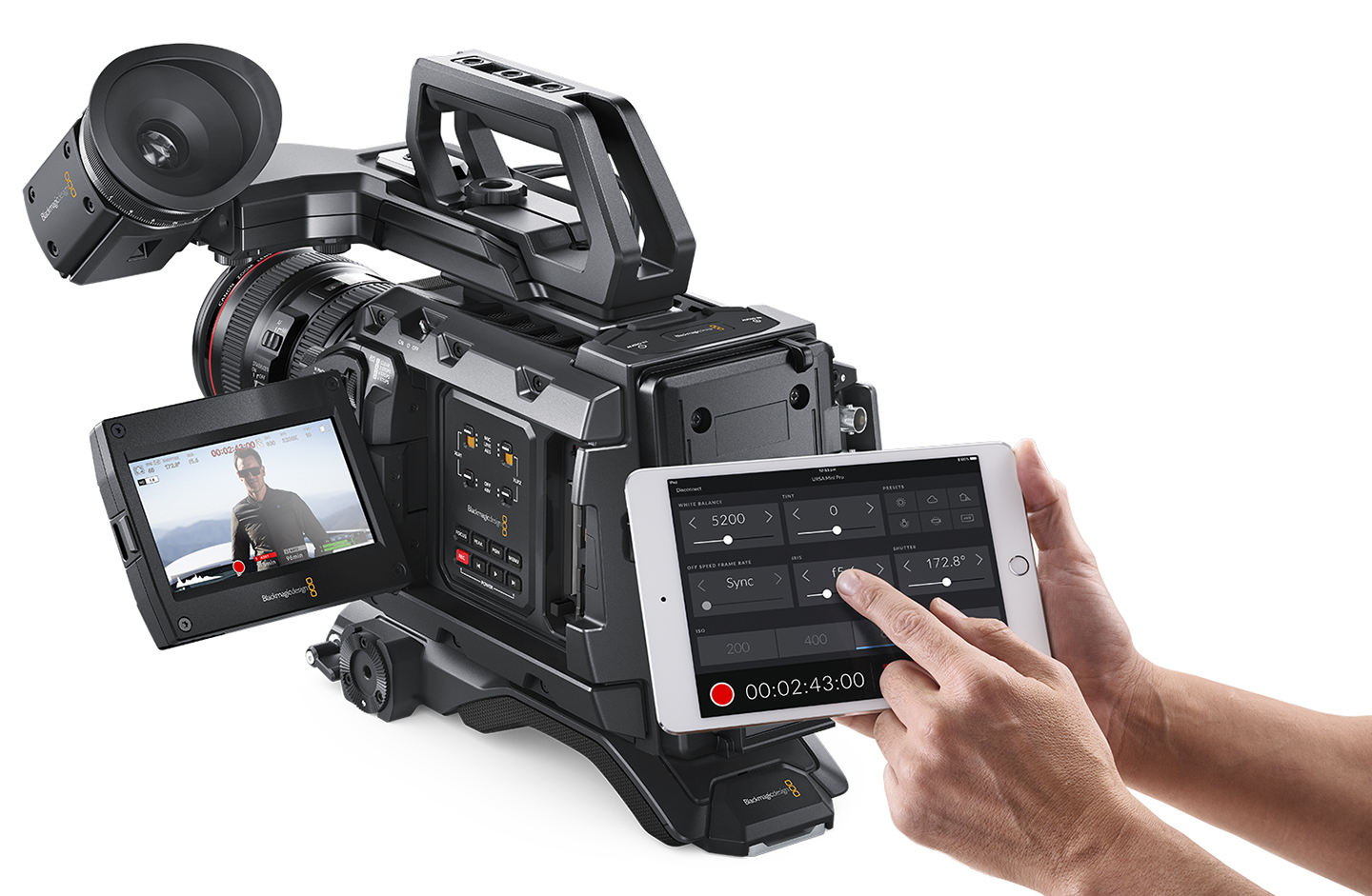Blackmagic Design Ursa Mini Pro Remote Operation App and