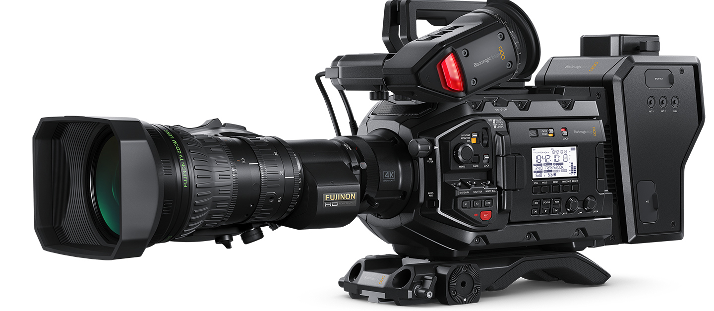 Blackmagic Ursa Broadcast Header