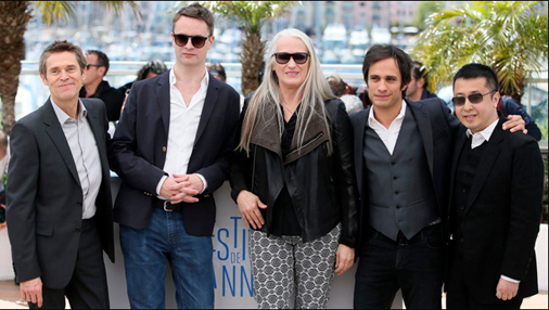 Cannes 2014 Men Jurors with Campion photo call-