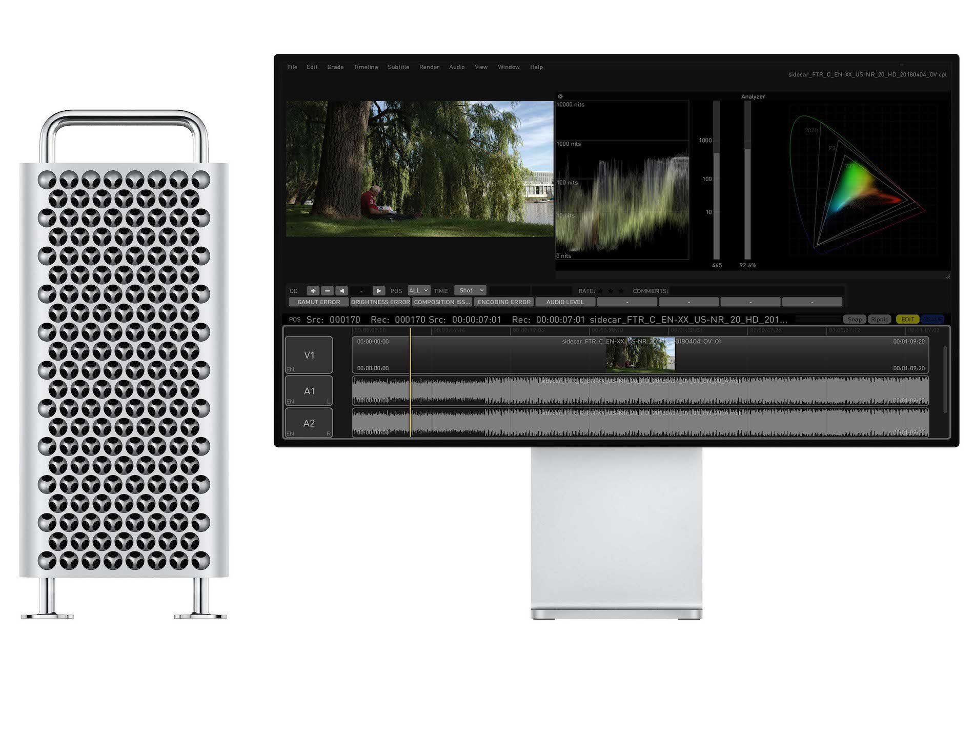Colorfront Ex D New Mac Pro
