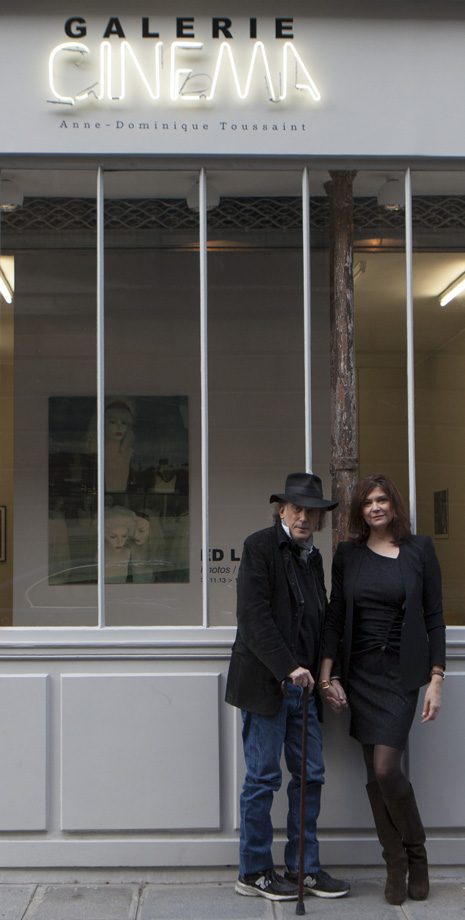 Ed Lachman and Anne-Dominique Toussaint at Gallerie Cinema-