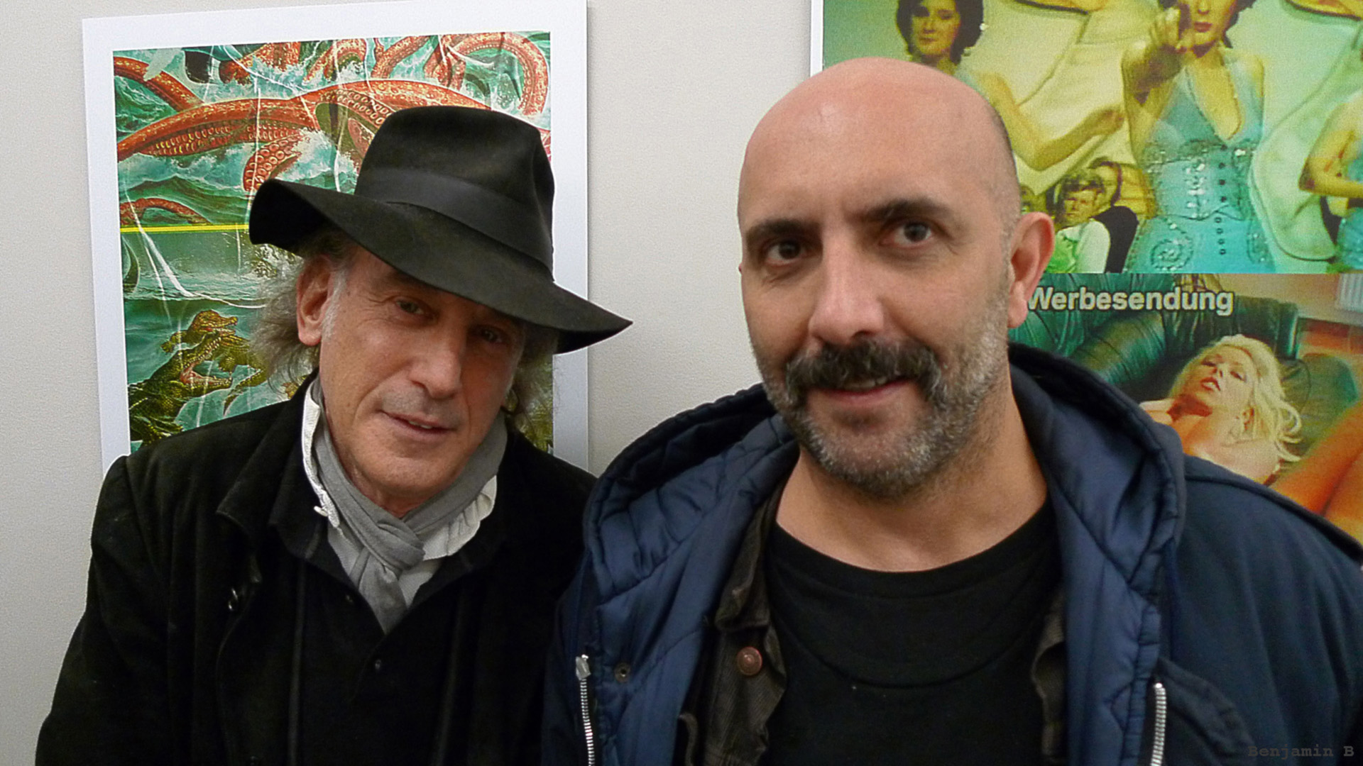 Ed Lachman and Gaspar Noe - Paris 2013 -photo by Benjamin B-