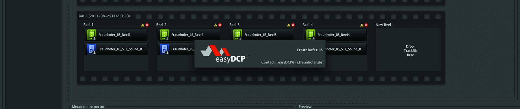 Featurefraunhofer Easy Dcp 1702